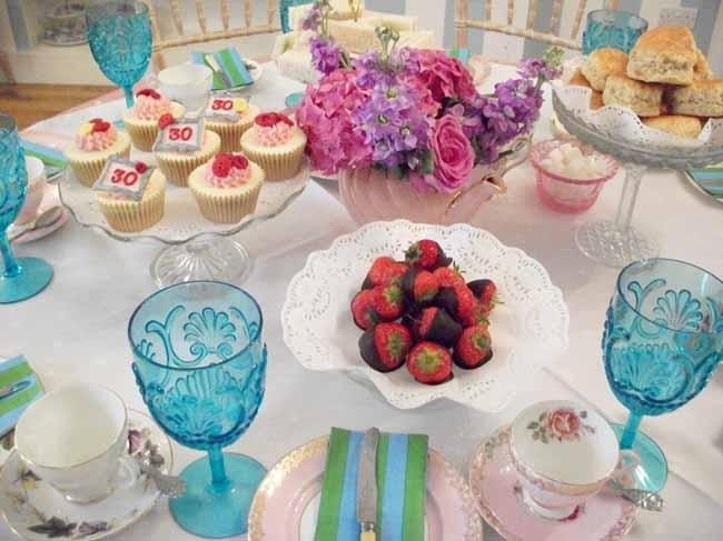 30th Birthday Tea Party