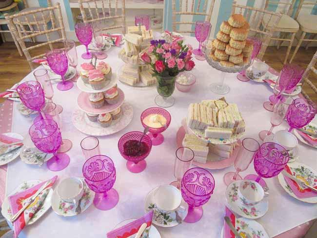 50th Birthday Tea Party