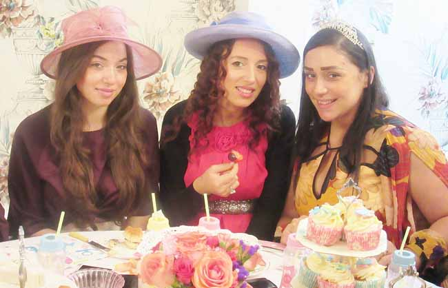 Beautiful-Mum to Be at her Baby Shower Tea Party Private Venue