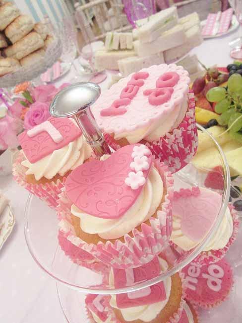 Fabulous Hen do Afternoon Hen Tea Party Cupcakes