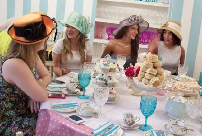 Farewell Tea Party for Australia