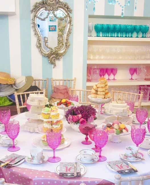 Sweet 16th Birthday Tea Party