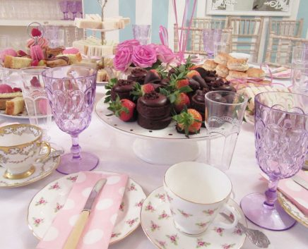birthday private tea party