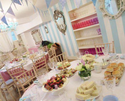 surprise tea party london